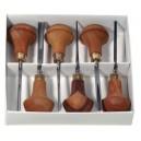 Pfeil Linoleum / Handpalmguts Set D