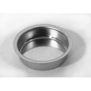 Cup voor Theelicht 12mm diep Zilverkleur 4 Stuks