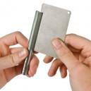 Credit card diamantsteen dubbelzijdig CR/DWS/CC/FC