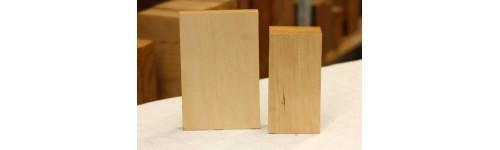 Linde hout 125x125 (BxL)